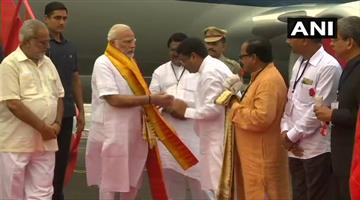 Khabar Odisha:modi-in-odisha-and-grand-welcome-to-him