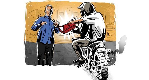 Khabar Odisha:money-bag-snatching-in-rayagada