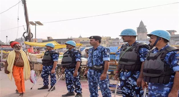 Khabar Odisha:national-odisha-heavy-security-deployed-in-many-districts-of-up-ahead-of-ayodhya-verdict