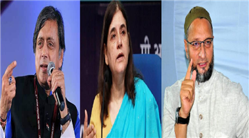 Khabar Odisha:national-odisha-hyderabad-case-encounter-shashi-tharoor-and-asadudding-owaisi-raises-questions
