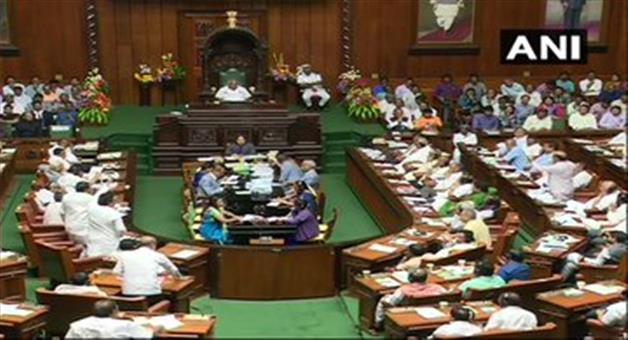 Khabar Odisha:national-odisha-karnataka-politics-not-vote-for-kumarswami-yet-house-adjourned