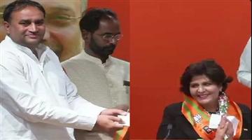 Khabar Odisha:national-odisha-lok-sabha-elections-2019-paralympian-deepa-malik-and-inld-mla-kehar-singh-rawat-in-bjp