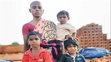 Khabar Odisha:national-odisha-salem-prema-widow-sales-her-hair-for-150-rupees-to-feed-three-kids