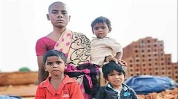 Khabar Odisha:national-odisha-salem-prema-widow-sales-her-hair-for-150-rupees-to-feed-three-kids