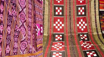 Khabar Odisha:national-odisha-sambalpuri-sari-odisha-island-village