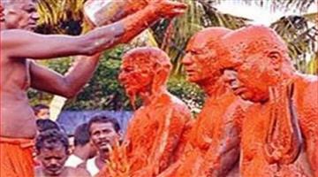 Khabar Odisha:national-odisha-varna-mutthu-mariyamman-temple-in-tamil-nadu-india-has-83-years-old-weird-ritual-chilli-for-health