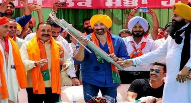 Khabar Odisha:national-odisha-viral-social-bjp-candidate-sunny-deol-victory-from-gurdaspur-lok-sabha-seat-handpump-photo-going-viral