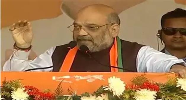 Khabar Odisha:national-political-odisha-bjp-president-amit-shah-gives-open-challenge-to-rahul-gandhi-during-a-rally-in-jharkhand