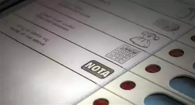 Khabar Odisha:nota-spoils-congress-bjp-game-on-at-least-20-seats-in-mp-polls