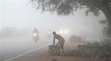 Khabar Odisha:odisha-bhubaneswar-heavy-fog