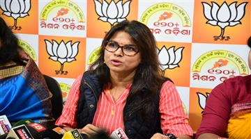 Khabar Odisha:odisha-bjp-press-meet-about-woman-security