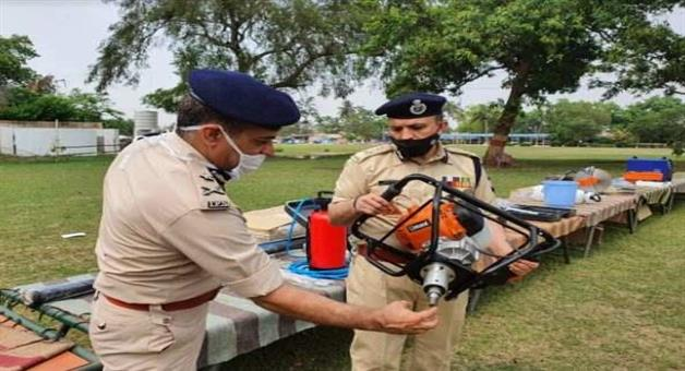 Khabar Odisha:odraf-raises-its-capacity-with-adding-hi-tech-equipments