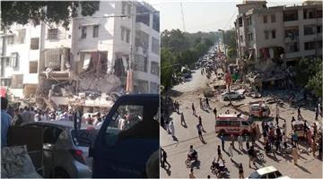Khabar Odisha:pakistan-karachi-maskan-chowrangi-gulshan-e-iqbal-explosion