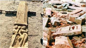 Khabar Odisha:parts-of-temple-found-in-ayodhya