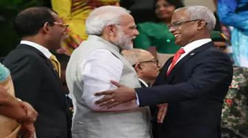 Khabar Odisha:pm-modi-joined-the-oath-taking-ceremony-of-maldives-president-solih