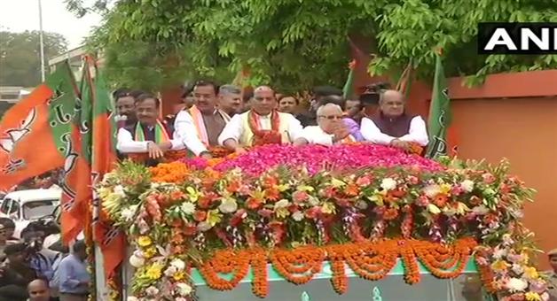 Khabar Odisha:political-national-odisha-lok-sabha-chunav-lucknow-lok-sabha-sp-bsp-coalition-and-congress-still-undecided-on-candidate-against-rajnath-singh