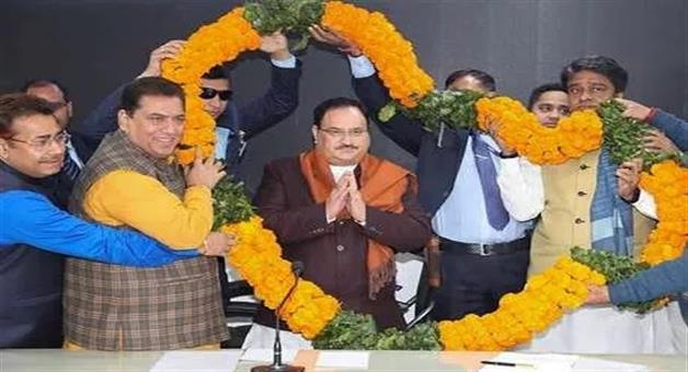 Khabar Odisha:politics-odisha--jp-nadda-may-become-bjp-president-on-20th-january