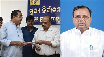 Khabar Odisha:politics-odisha-BJP-moves-CEO-against-Nuapada-BJD-candidate-Rajendra-Dholakia