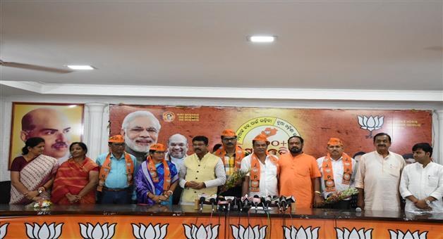 Khabar Odisha:politics-odisha-bjp-joinning-festival-in-odisha