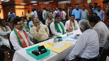 Khabar Odisha:politics-odisha-rajyasava-bypoll-three-candidates-of-bjd-and-bjps-nomination-valid
