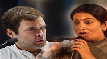 Khabar Odisha:politics-odisha-smirti-irani-will-contest-from-amethi-aganist-rahul-gandhi