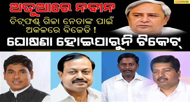 Khabar Odisha:politics-state-ticket-tension-of-bjd-and-naveen-patnaik