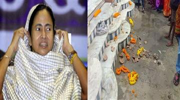 Khabar Odisha:religion-odisha-kolkatta-police-vandalises-Hindu-temple-in-the-pretext-of-implementing-loudspeaker-ban