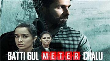 Khabar Odisha:reviews-shahid-kapoor-and-shraddha-kapoor-film-movie-review-batti-gul-meter-chalu-directed-by-shree-narayan-singh-by-parag-chhapekar-