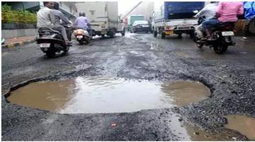 Khabar Odisha:road-safety-potholes-killed-3597-across-india-in-2017