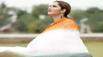 Khabar Odisha:sania-mirza-wish-independence-day-to-her-countrymen-pakistani-fans-get-anger