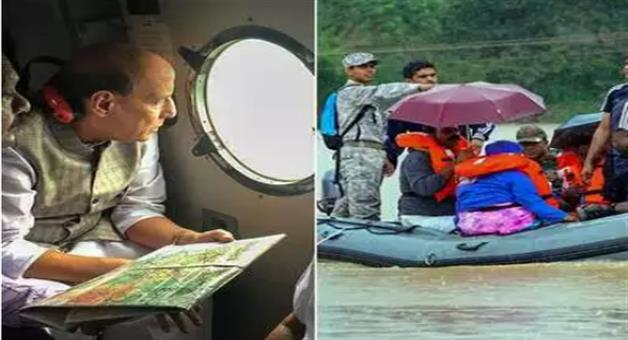 Khabar Odisha:situation-very-serious-in-kerala-due-to-floods-says-rajntah-singh