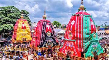 Khabar Odisha:southwards-of-three-chariot-in-puri