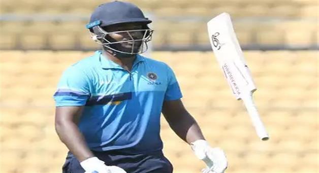 Khabar Odisha:sports--cricket--odisha-kerala-wicket-keeper-sanju-samson-smashes-record-breaking-double-hundred-against-goa