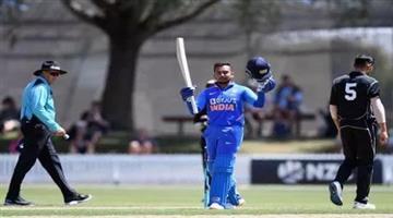 Khabar Odisha:sports--cricket--odisha-cricket-india-a-vs-new-zealand-a-prithvi-shaw-hits-150-runs-against-new-zealand-