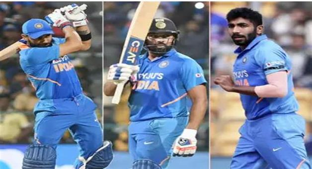 Khabar Odisha:sports--cricket--odisha--virat-kohli-rohit-sharma-consolidate-top-batting-positions-bumrah-leads-bowlers-pack-in-icc-odi-rankings