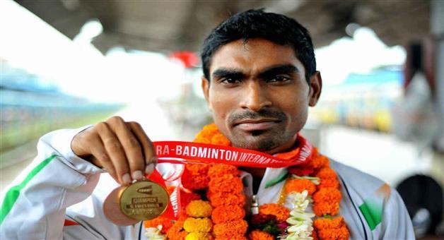 Khabar Odisha:sports-para-badminton-odisha--Pramod-Bhagat-awarded-by-arjun-award