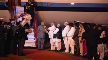 Khabar Odisha:state-odisha---President-Ramnath-Kovind-reached-bhubaneswar-on-2-days-odisha-tour