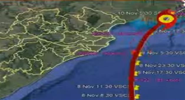Khabar Odisha:state-odisha---cyclone-bulbul-flow-towards-westbengal-land-fall-tomorrow-night