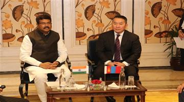 Khabar Odisha:state-odisha--India-Mongolia-bilateral-relationship-strong-the-economy-of-both-country-says-Dharmendra-Pradhan