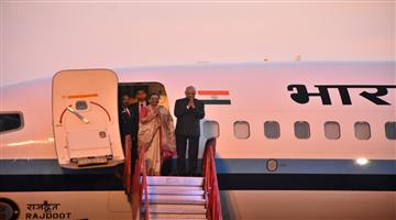 Khabar Odisha:state-odisha-President-Ramnath-Kovind-return-delhi-after-2-days-odisha-tour