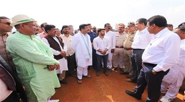 Khabar Odisha:state-odisha-central-minister-Dharmendra-Pradhan-examine-the-preparation-of-President-tour-in-barunei