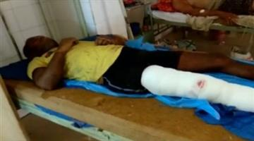 Khabar Odisha:state-odisha-crime-Dreaded-criminal-Pramod-Barik-injured-in-police-encounter-near-Palurkrushnaprasad