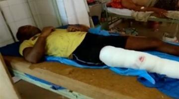 Khabar Odisha:state-odisha-crime-Dreaded-criminal-Pramod-Barik-injured-in-police-encounter-near-Palurkrushnaprasad