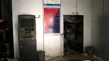 Khabar Odisha:state-odisha-crime-atm-loot-in-rayagada-near-police-station