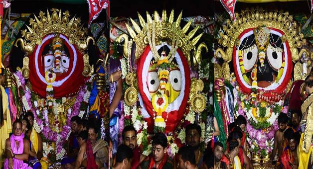 Khabar Odisha:state-odisha-sunabesha-of-lord-jagannatha-at-puri