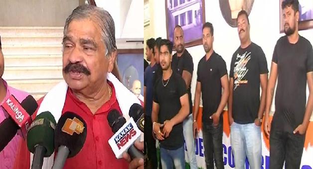 Khabar Odisha:state-odisha-sura-routray-statement-congress-bhawan-under-bouncers-cover