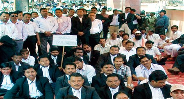 Khabar Odisha:strike-odisha-court-advocate-bar-association-court-work-stopped