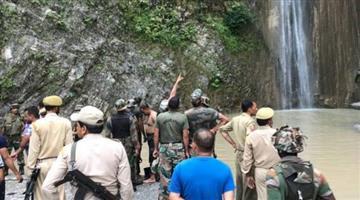 Khabar Odisha:vaishno-devi-pilgrims-landslide-4-dead-riasi-jammu-kashmir