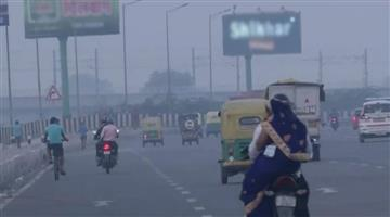 Khabar Odisha:visibility-reduced-in-delhi-after-increase-in-pollution-aqi-reached