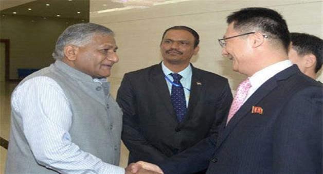 Khabar Odisha:vk-singh-first-indian-minister-to-visit-pyongyang-in-20-years